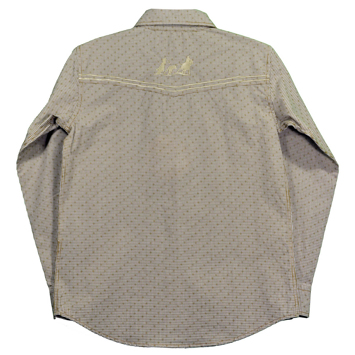 Rutete Cowboy Skjorte til Gutt | Westernbutikken.no