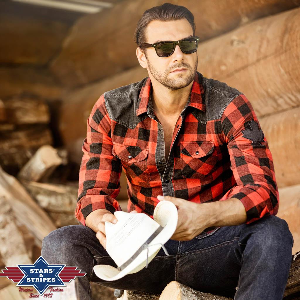 Lumberjack Rød Flanellskjorte | Westernbutikken.no