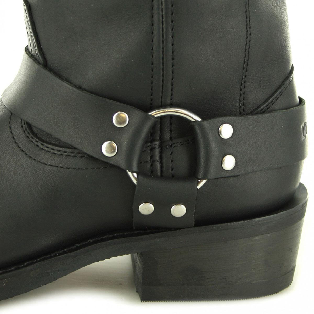 Black Harness Boots   Westernbutikken.no