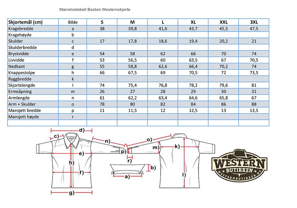 Boston Retro Hvit Westernskjorte   Westernbutikken.no