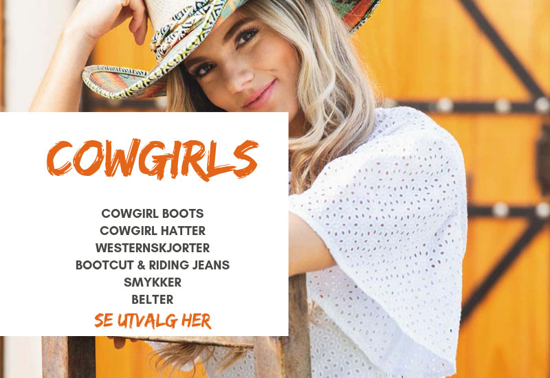 Se alle produkter for Cowgirls